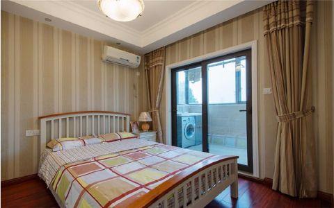 卧室白色床美式风格装修图片