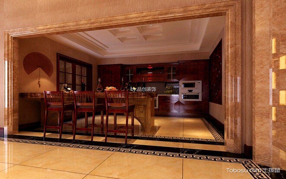 厨房 吊顶_融科伍杄島新中式别墅装修效果图
