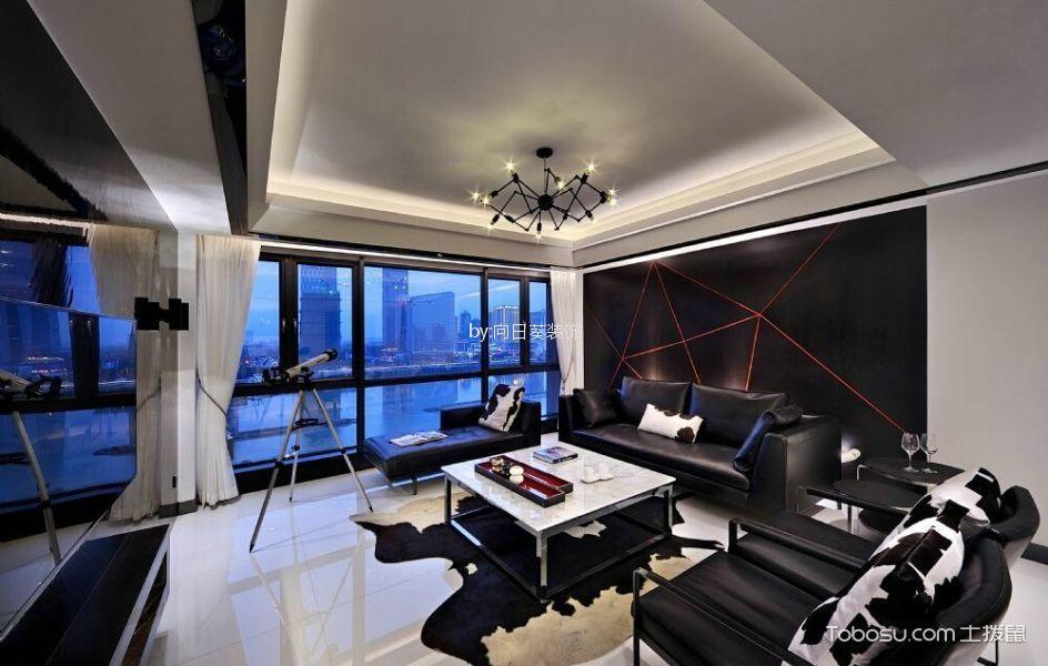 聚福园145m²现代简约风格四居室装修效果图