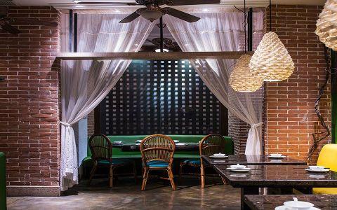 泰式主题餐厅餐馆装修效果图