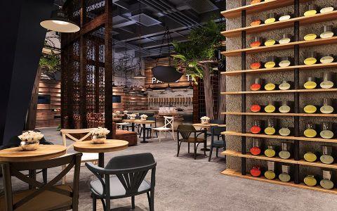 中式餐馆餐馆装修效果图