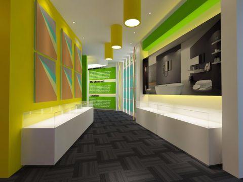 JIT浴室造型材料展厅装修效果图