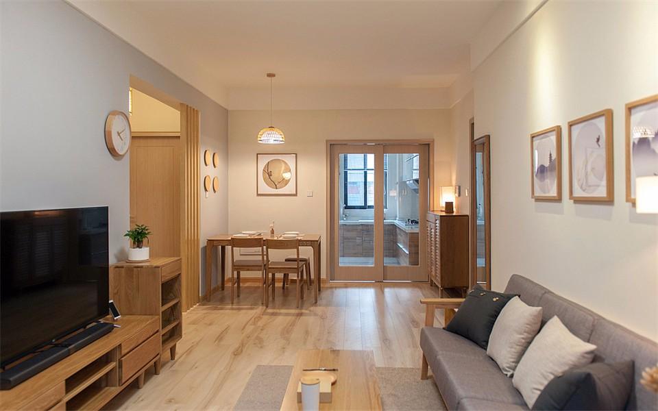 3室1卫2厅100平米简约风格