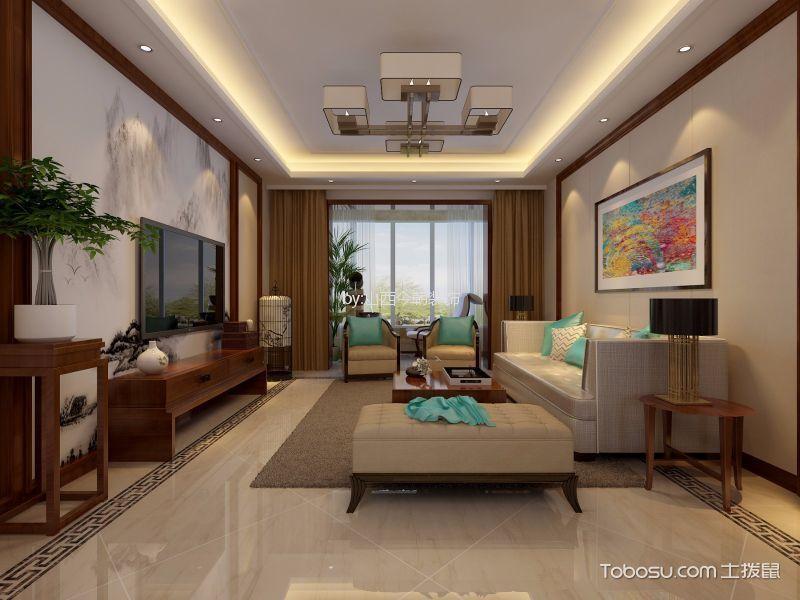 简中风格142平米大户型室内装修效果图