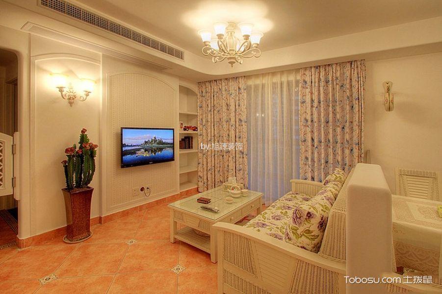 2020韩式110平米装修设计 2020韩式二居室装修设计