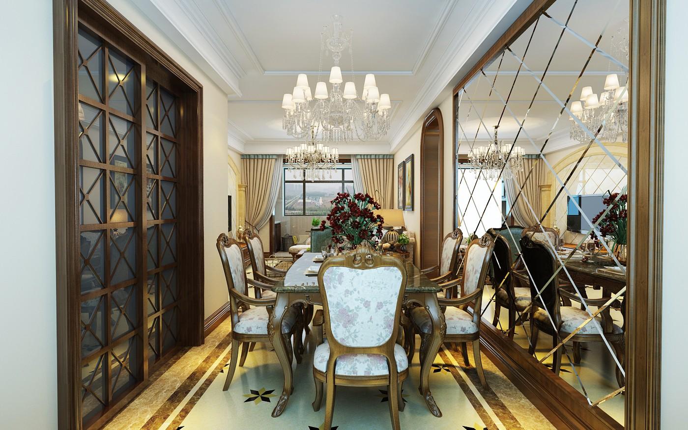 3室1卫2厅115平米欧式风格