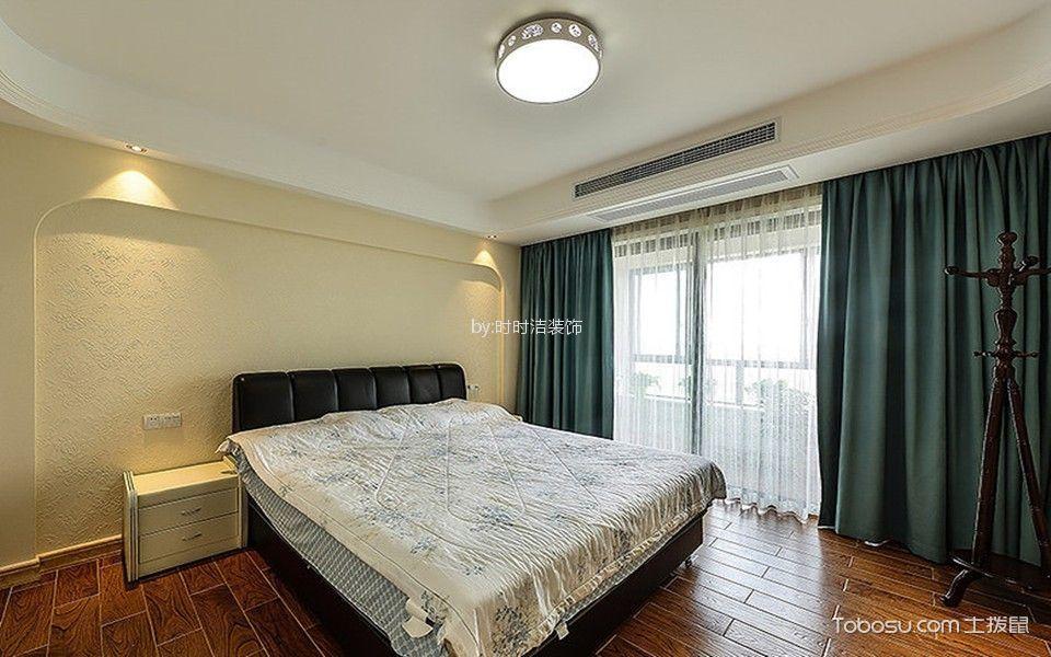 卧室窗帘美式风格装饰设计图片图片
