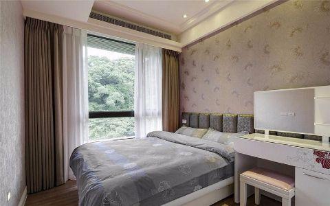 迷人卧室欧式装潢实景图