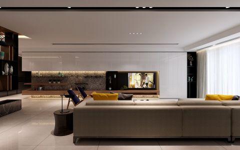 客厅背景墙经典风格装饰效果图