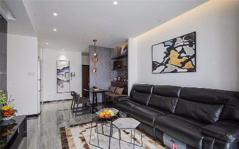 客厅照片墙现代简约风格装修效果图