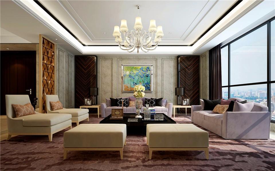3室2卫2厅140平米现代风格