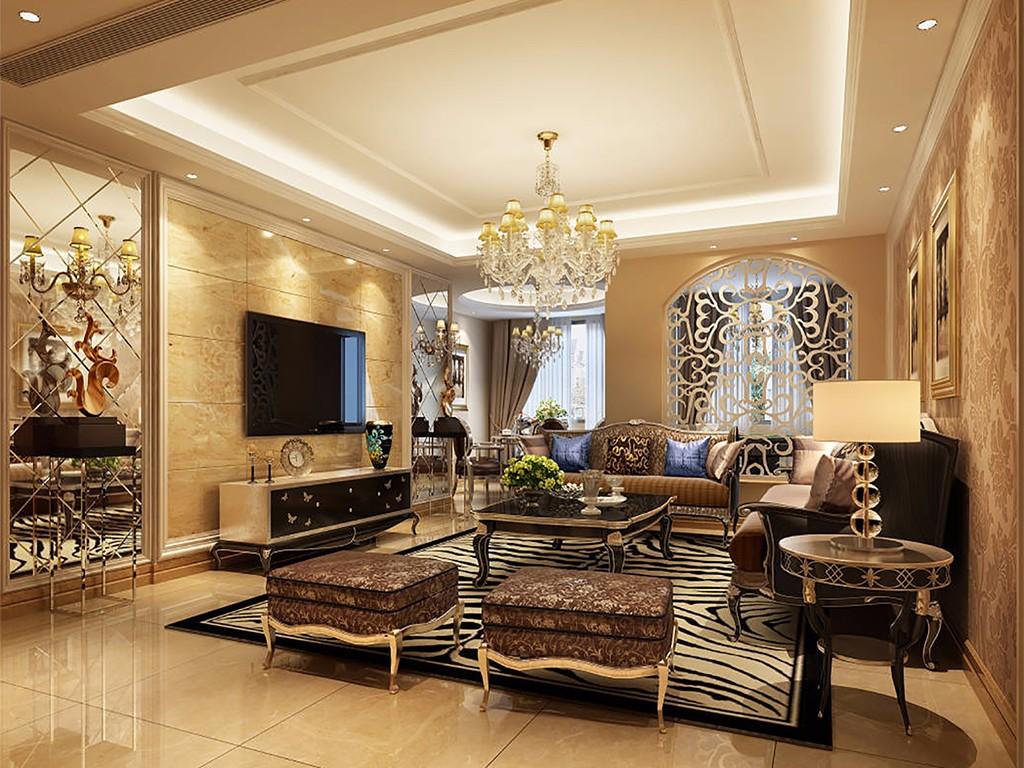 3室2卫2厅145平米欧式风格
