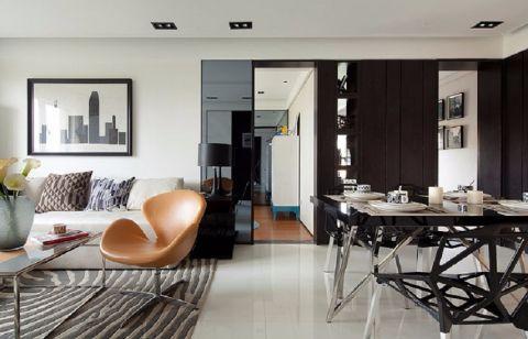 现代客厅照片墙设计