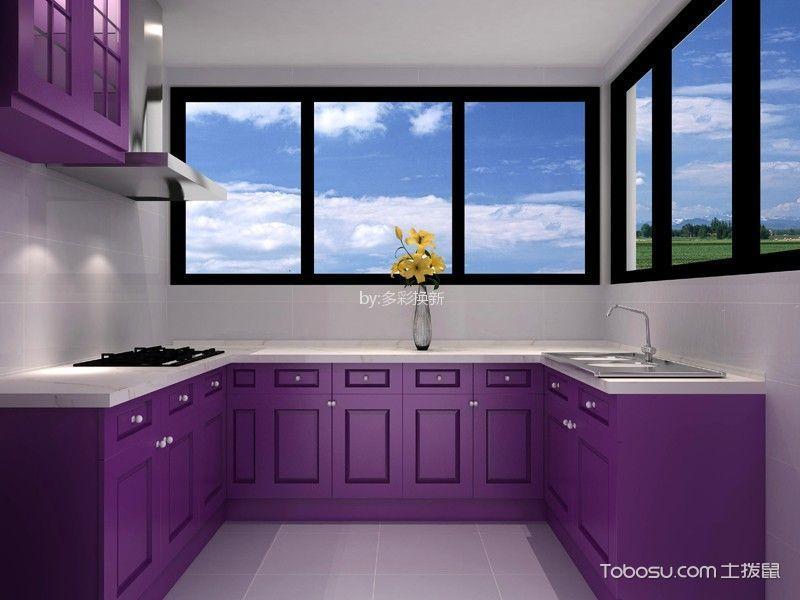 简约风格130平米三室两厅新房装修效果图