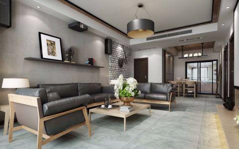 简中风格131平米大户型室内装修效果图