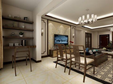 客厅照片墙中式风格装修效果图