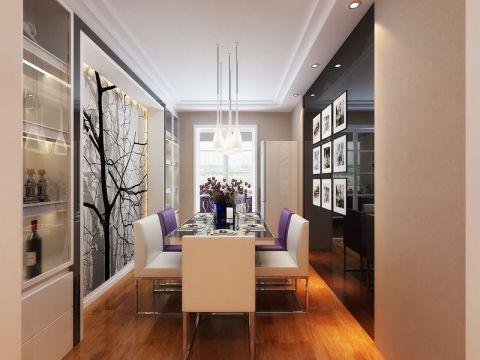餐厅照片墙简约风格装饰效果图