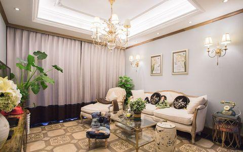 2019欧式田园110平米装修设计 2019欧式田园公寓装修设计