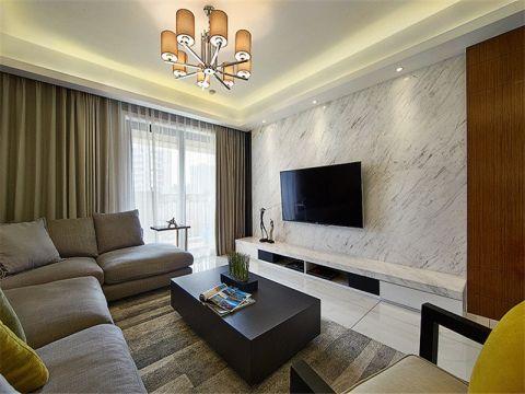 观锦137平现代简约风格三居室装修效果图