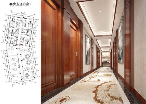 泰村会所宾馆装修效果图