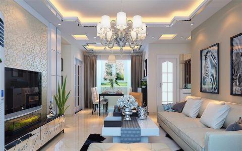 卫生间窗帘现代简约风格装潢设计图片
