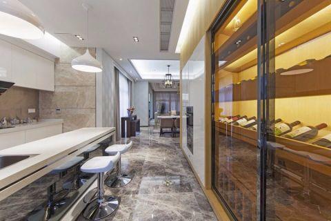 厨房走廊现代简约风格装修图片