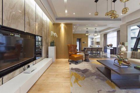 中信山语湖80平现代简约二居室装修效果图