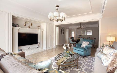 莱蒙城美式风格四居室装修效果图