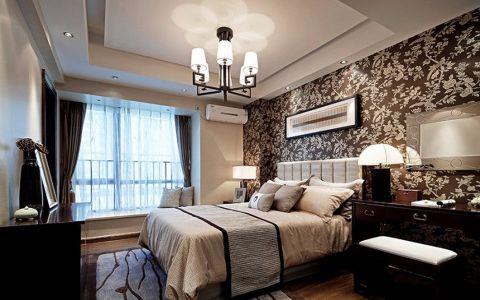 混搭风格130平米楼房室内装修效果图
