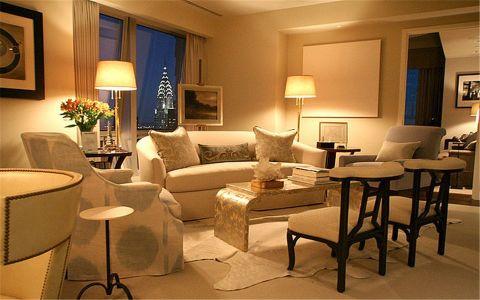 金基月亮湾90平欧式风格二居室装修效果图
