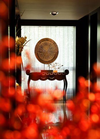 阳台窗台新中式风格装饰效果图
