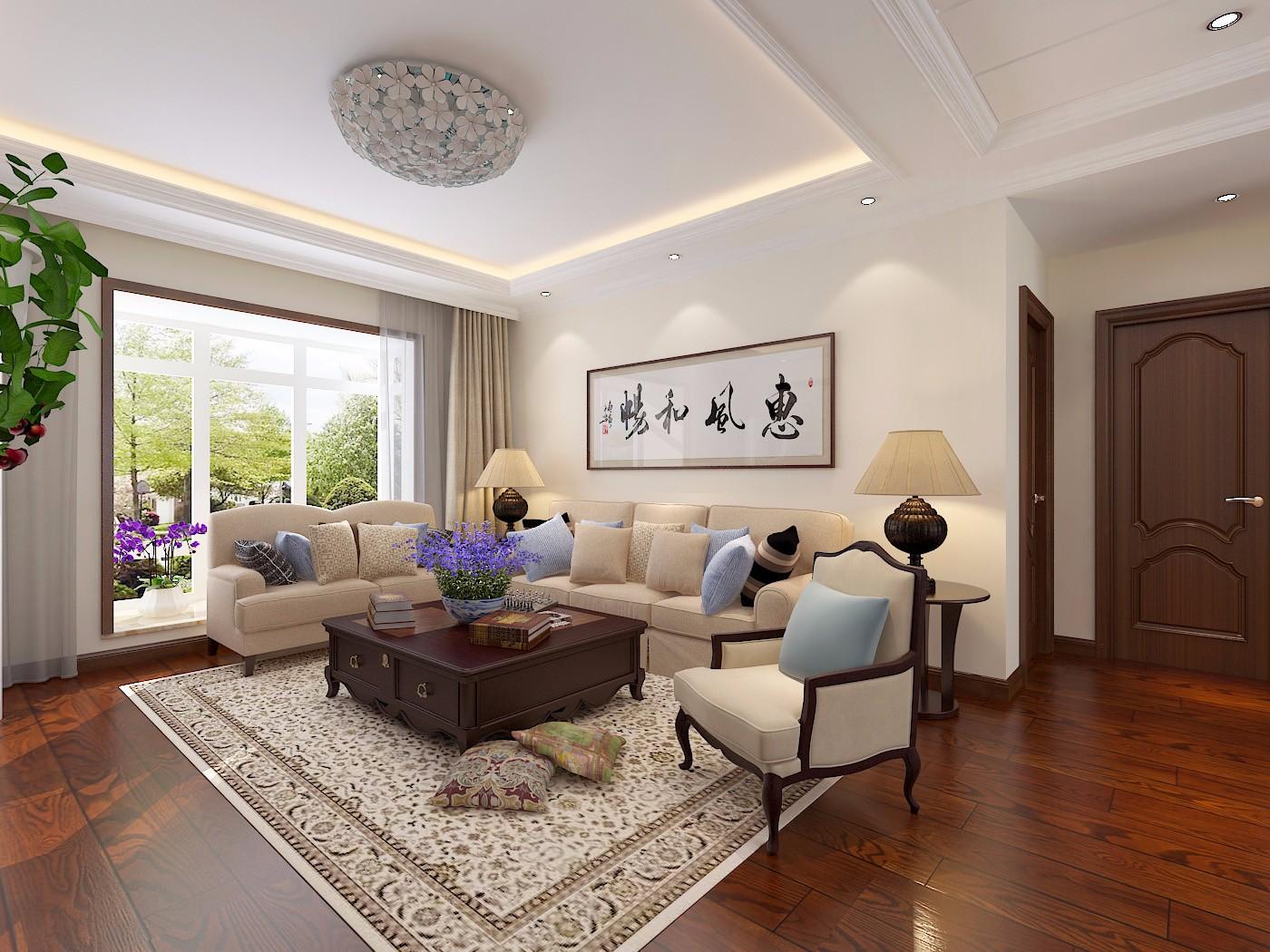 3室1卫2厅138平米新中式风格