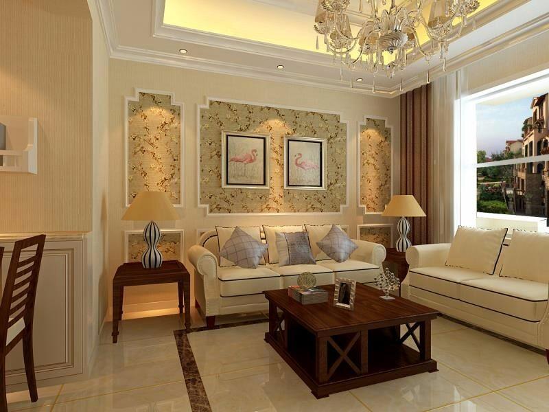3室1卫2厅98平米欧式风格