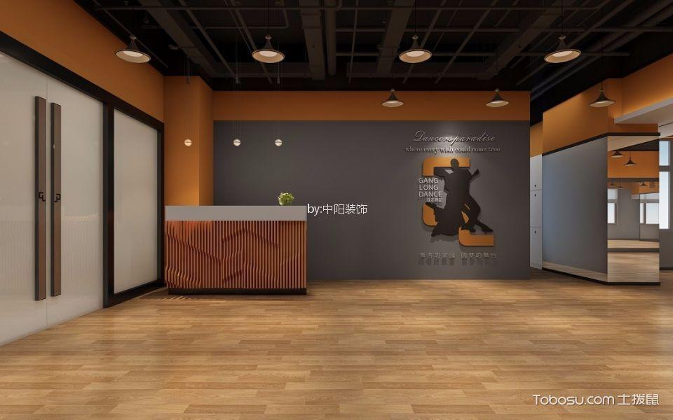 港龙舞蹈罗湖店美容院大厅背景墙装修图片