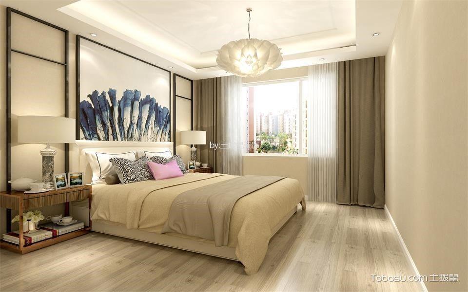现代简约风格60平米两室一厅新房装修效果图