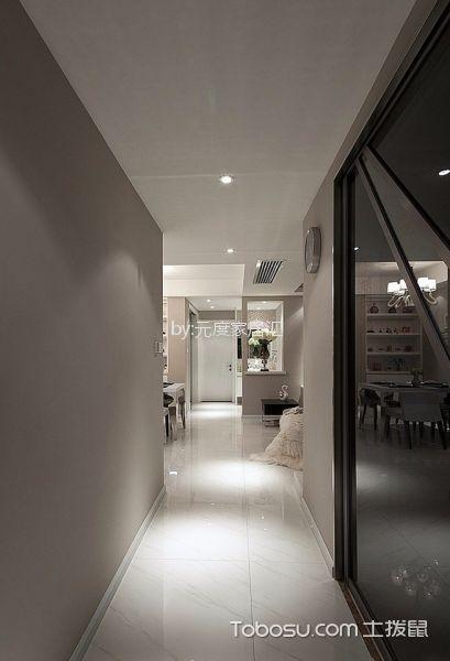 蓝光coco时代69平简约风格三居室装修效果图客厅吊顶