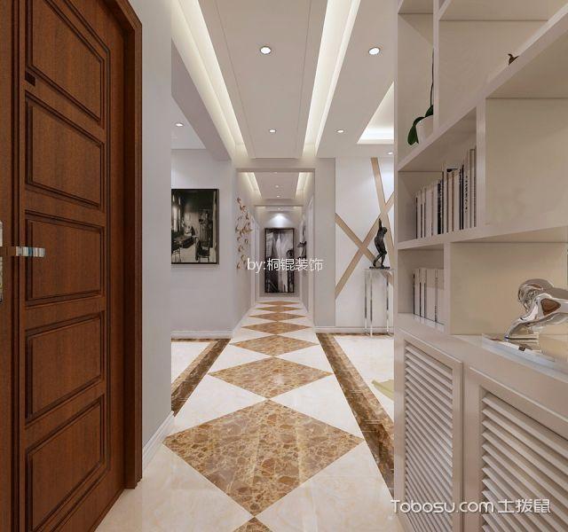 玄关白色走廊现代风格装修设计图片