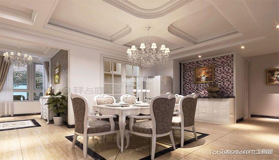 现代简约风格120平米两室两厅新房装修效果图