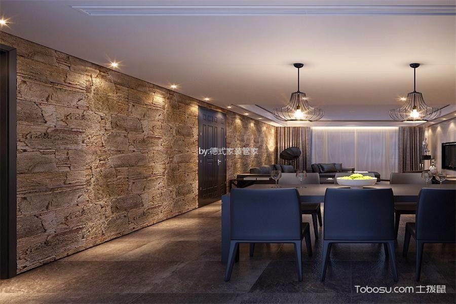 成都保利狮子湖123平米现代风格效果图