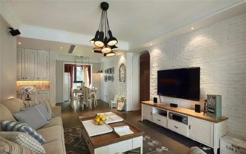 2020简约110平米装修设计 2020简约三居室装修设计图片