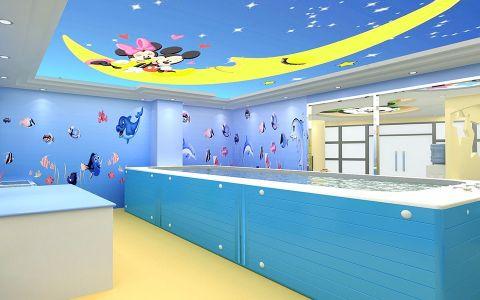 婴幼儿水育中心会所装修效果图