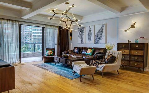 欧式风格134平米套房室内装修效果图