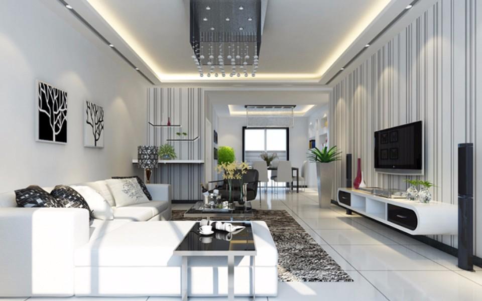 2室1卫2厅60平米简约风格