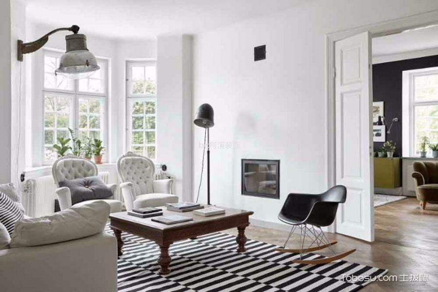 嘉信花园154平北欧风格四居室装修效果图