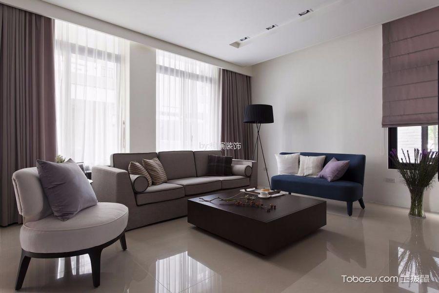 中港悦蓉府平118㎡现代简约风格三居室装修案例