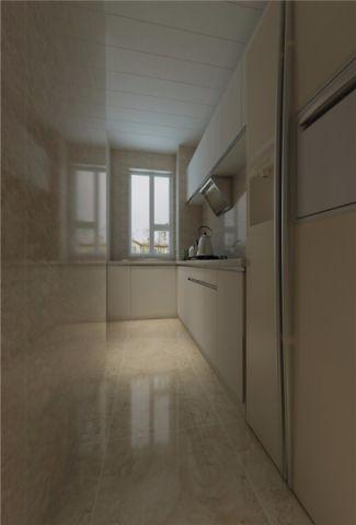 清新素丽厨房PVC扣板吊顶装饰设计