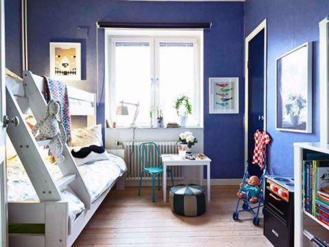 儿童房窗台北欧风格装饰效果图
