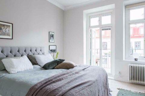 卧室门厅北欧风格装潢效果图