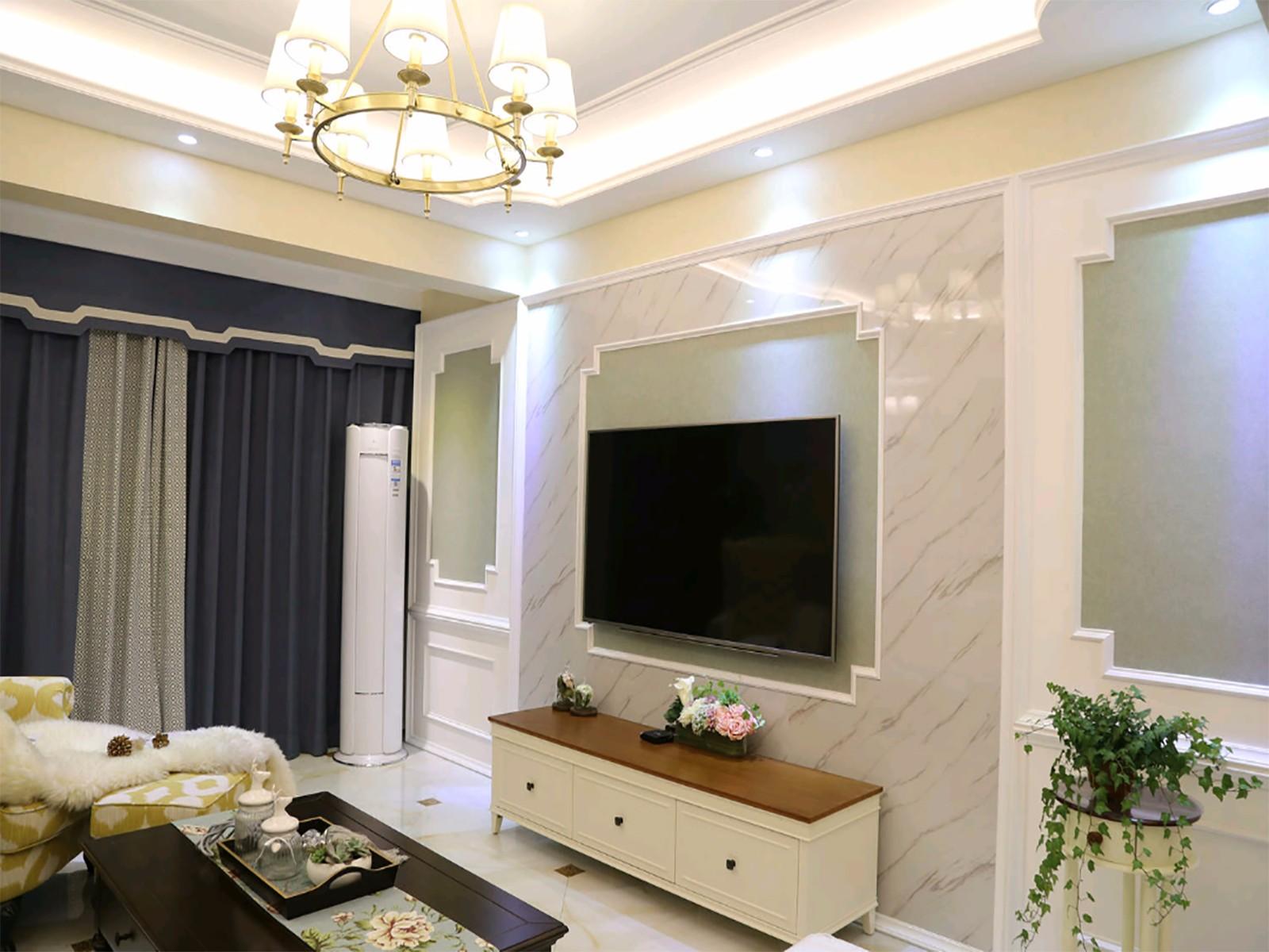 2室1卫2厅欧式田园风格