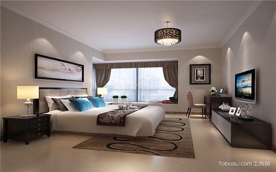 35座200方现代风格四居室装修效果图